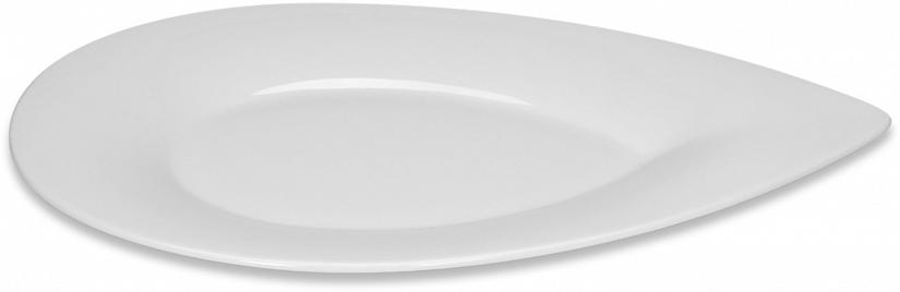 Pladenj v obliki kaplje 28 cm