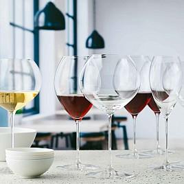 Kozarci za rdeče vino Burgundy 830ml 6pak. - AKCIJA