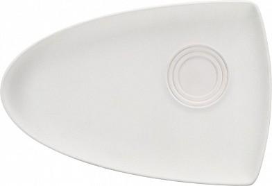 Krožnik asimetričen 26x18 cm