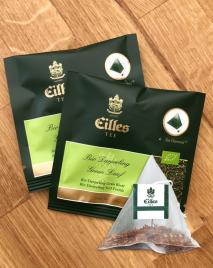 BIO Fairtrade Darjeeling green leaf - zeleni čaj - Diamond vrečke